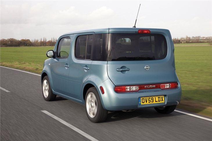 nissan cube 2010 car review honest john. Black Bedroom Furniture Sets. Home Design Ideas