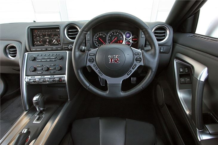 Nissan GT-R 2009 - Car Review - Interior   Honest John