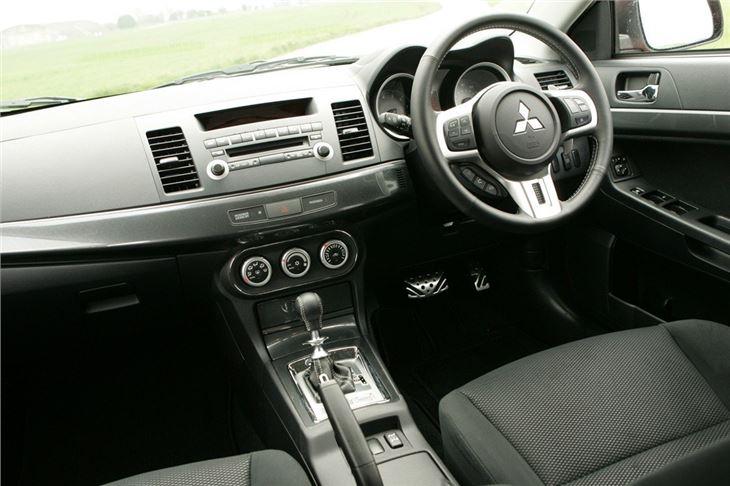Mitsubishi lancer 2008 review