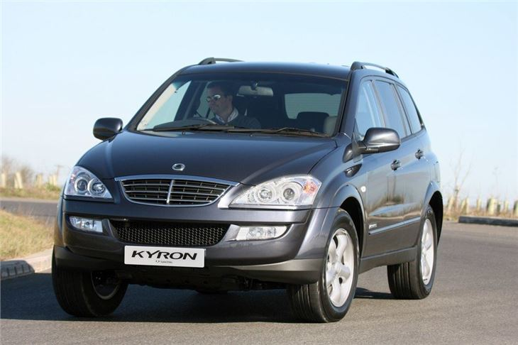 Ssangyong Kyron 2006 Car Review Honest John