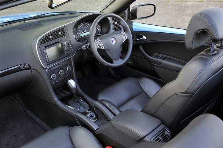 saab convertible 2003 interior