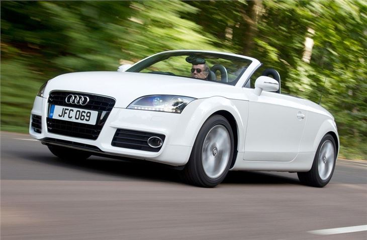 Audi TT Roadster Car Review Honest John - Audi tt convertible