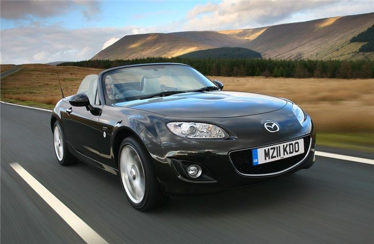 mazda mx5 roadster coupe 2006 - car review | honest john