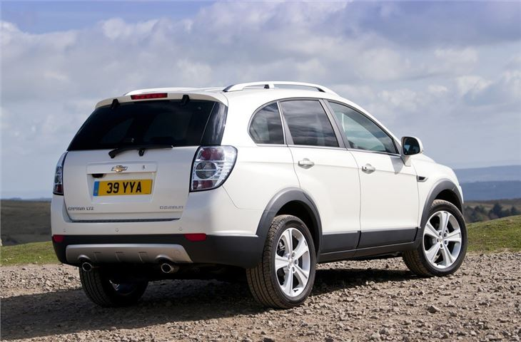 chevrolet captiva  car review honest john