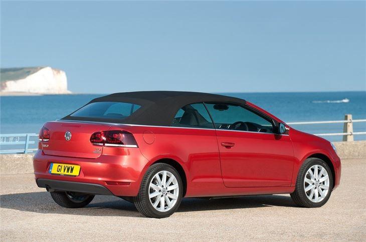 volkswagen golf vi cabriolet 2011 car review honest john. Black Bedroom Furniture Sets. Home Design Ideas