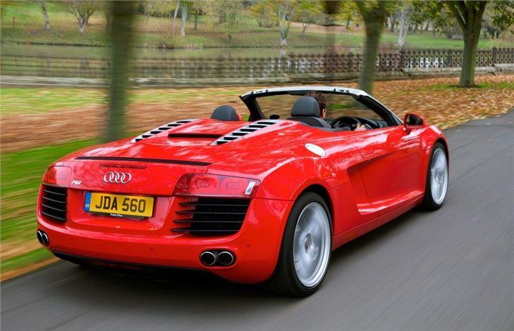 Audi r8 v10 spyder manual for sale 12