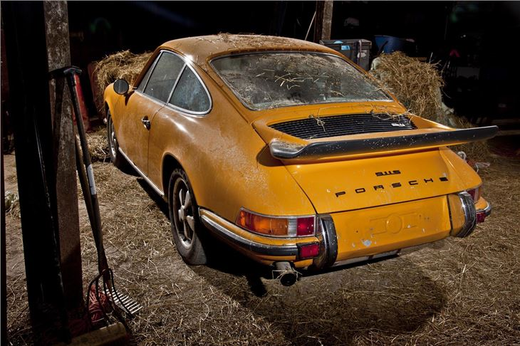 Rare Barn Find Porsche 911S To Be Restored By Autofarm