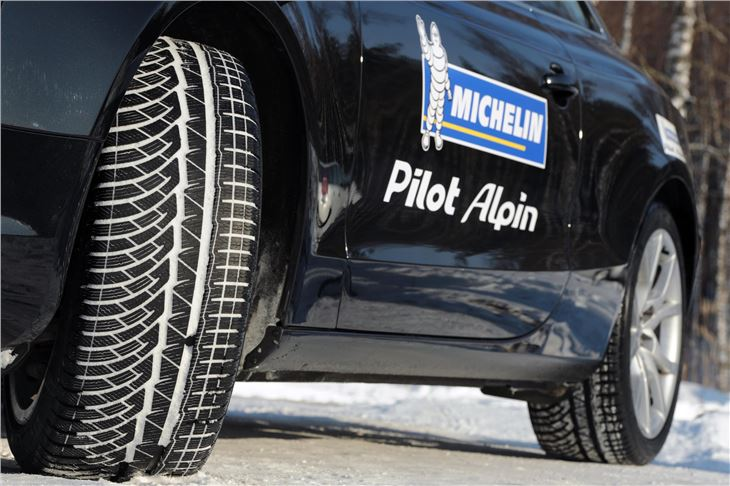 michelin launches two new high performance winter tyres. Black Bedroom Furniture Sets. Home Design Ideas