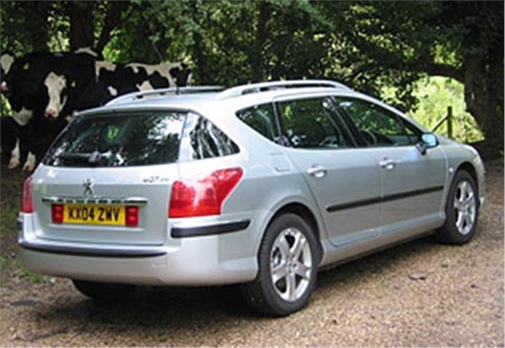 7 Seater Cars >> Peugeot 307 and 407 SW 2004 Road Test | Road Tests ...