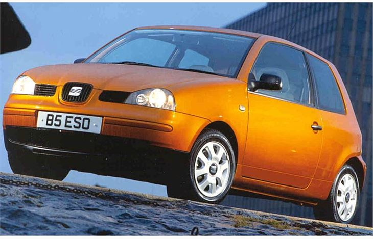 Volkswagen Lupo Versus Seat Arosa Year 2000 Test Road