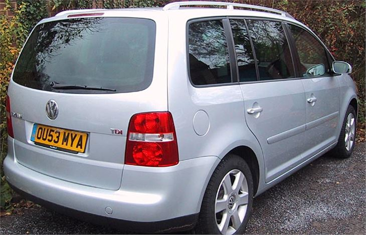 Volkswagen Touran 2003 Road Test Road Tests Honest John