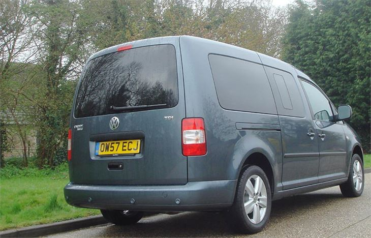 volkswagen caddy maxi life 7 seater 2008 road test road tests honest john. Black Bedroom Furniture Sets. Home Design Ideas