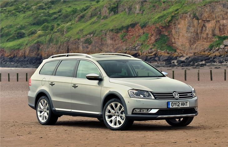 volkswagen passat alltrack  car review honest john