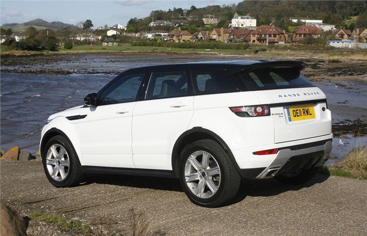 land rover range rover evoque 2011 car review honest john. Black Bedroom Furniture Sets. Home Design Ideas