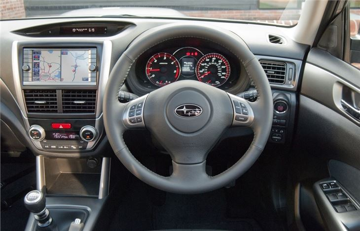 Subaru Forester 2008 Car Review Interior Honest John