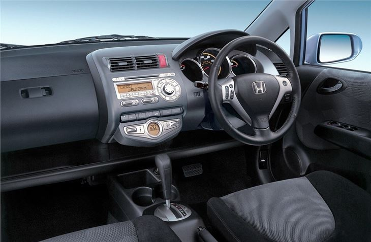 honda jazz 2001 car review honest john. Black Bedroom Furniture Sets. Home Design Ideas