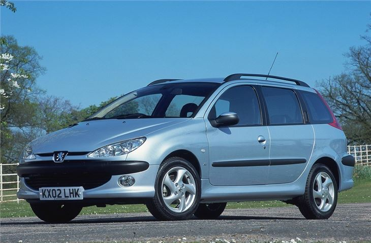 peugeot 206 sw 2002 car review honest john. Black Bedroom Furniture Sets. Home Design Ideas