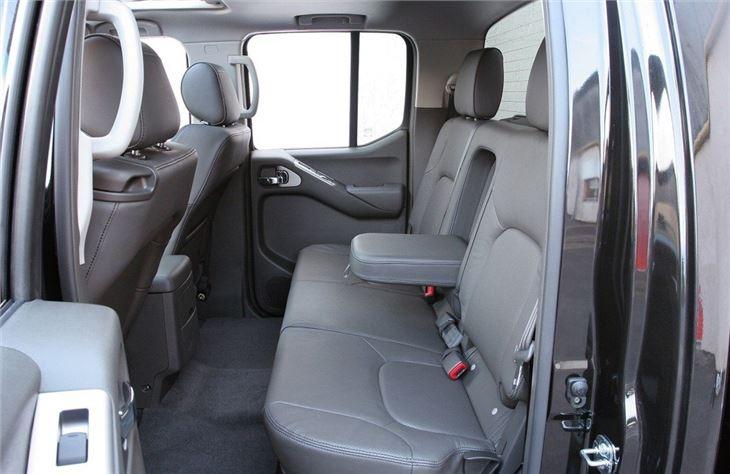 Nissan Navara D40 2005 - Van Review | Honest John