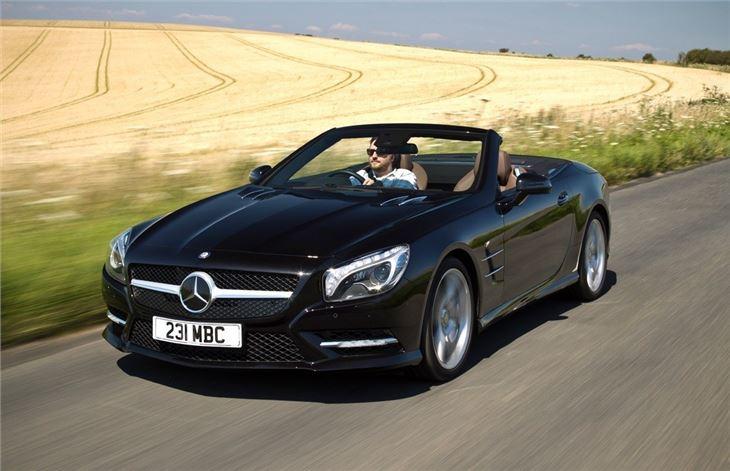 Mercedes benz sl r231 2012 car review honest john for Mercedes benz 700 series price