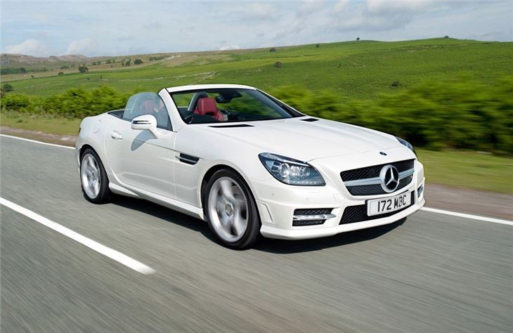 Mercedes Benz Slk R172 2011 Car Review Honest John