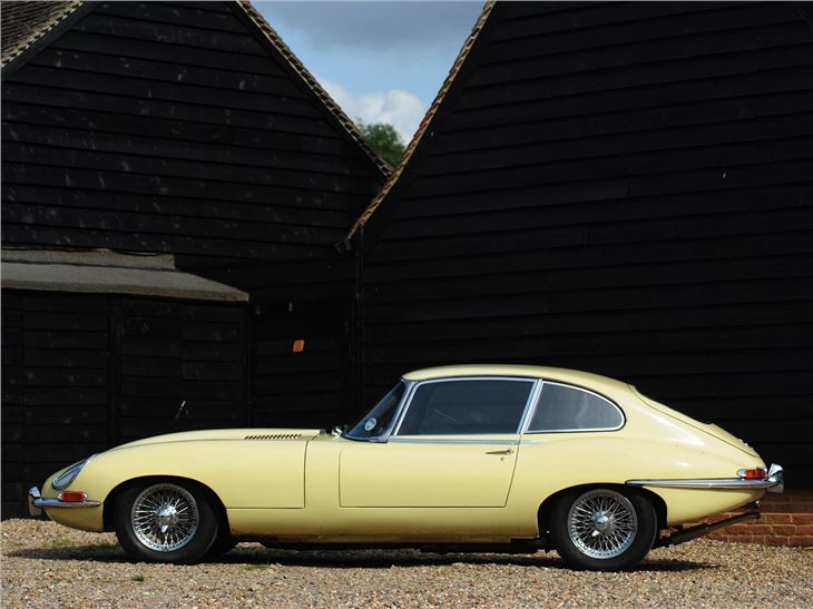 1967 jaguar e-type | hagerty – classic car price guide.