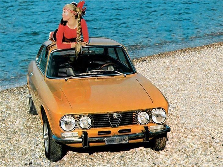 Straight Line Performance >> Alfa Romeo Giulia (Type 105) - Classic Car Review | Honest ...