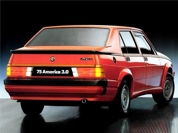alfa romeo alfa 75 classic car review honest john rh classics honestjohn co uk Veloc Alfa 75 Alfa 75 V6 Clutch