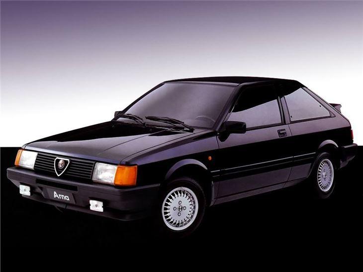Alfa Romeo Arna on 1986 Alfa Romeo Spider
