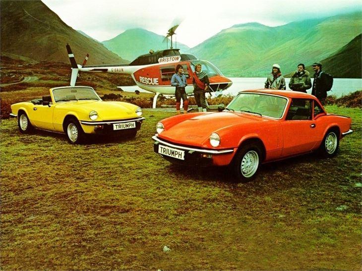 triumph spitfire - classic car review   honest john