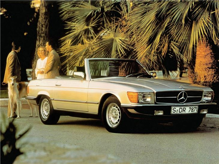 Mercedes Benz Sl R107 Classic Car Review Honest John