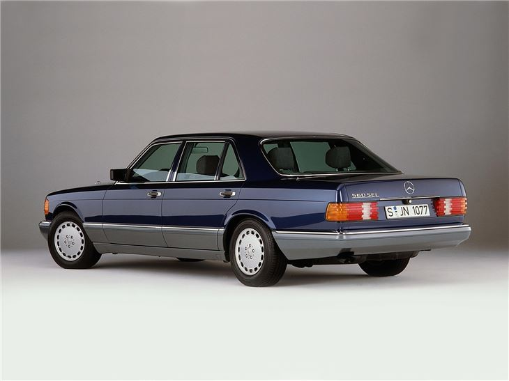 Mercedes benz s class w126 classic car review honest for Mercedes benz w126