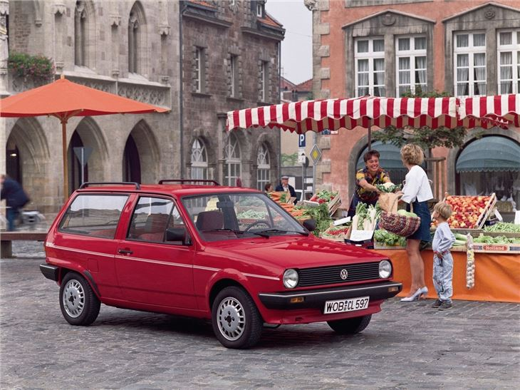 Volkswagen Polo Mk2 And G40 1981