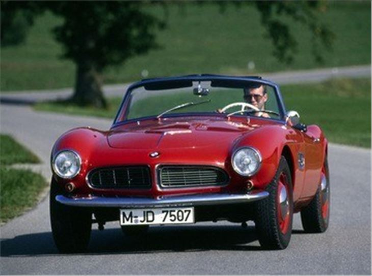 bmw 507 classic car review honest john 2000 Silver BMW First Year BMW 2000 CS