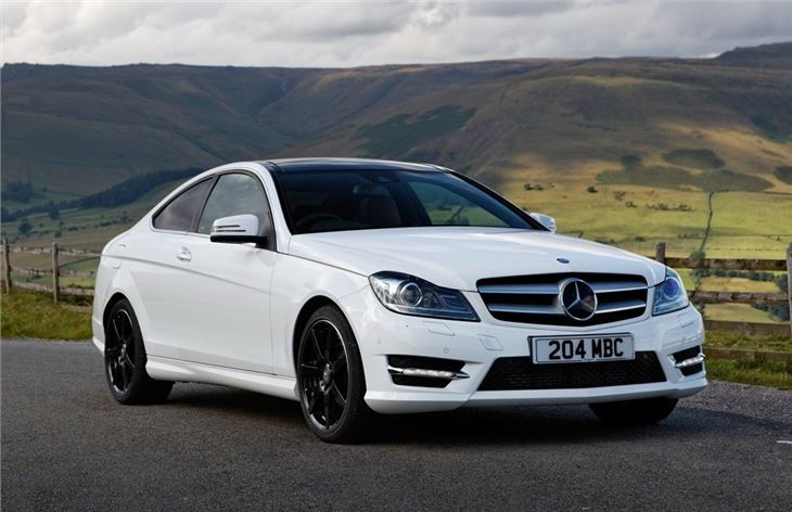 Mercedes benz c class coupe 2011 car review honest john - Mercedes c class coupe 2014 ...