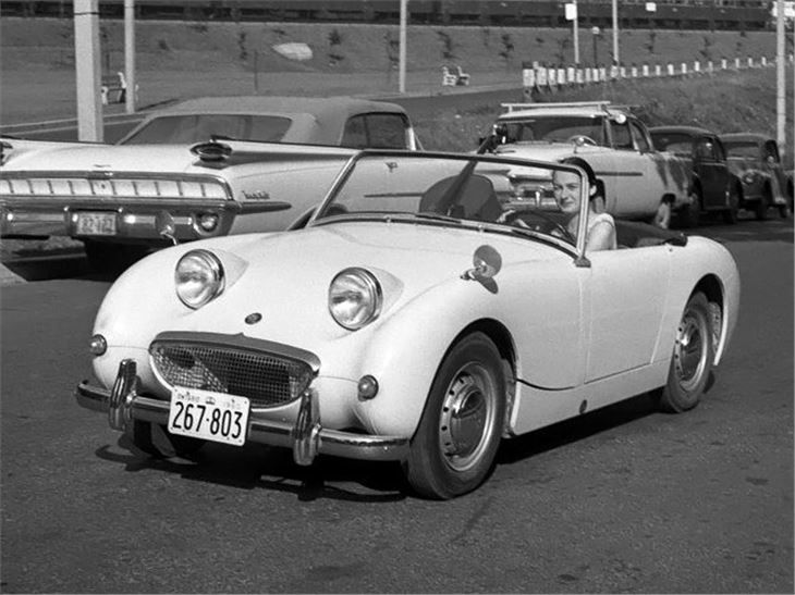 Austin Healey Sprite Mk1 Mk2 Mk3 Mk4 Classic Car Review