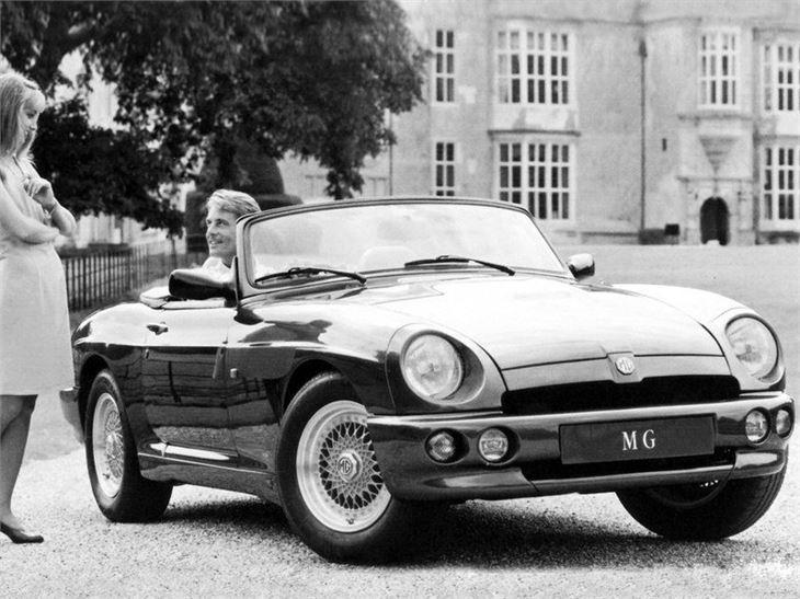 mg rv8 classic car review honest john. Black Bedroom Furniture Sets. Home Design Ideas