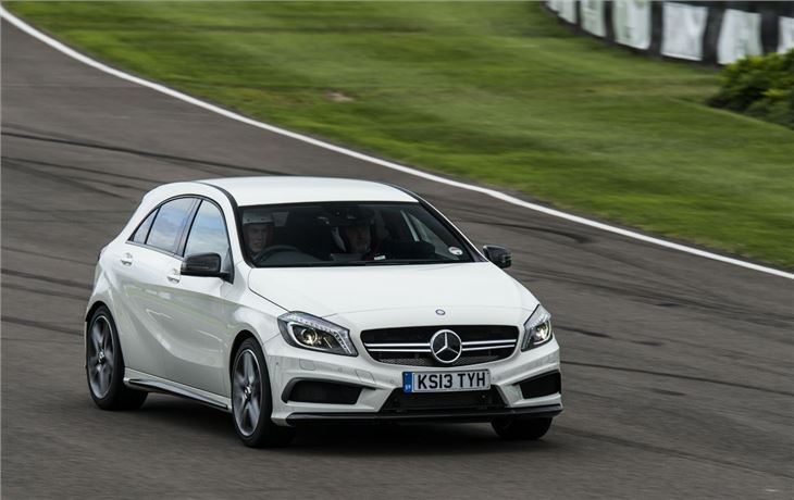 Mercedes benz a45 amg 2013 road test road tests honest for Mercedes benz 700 series price