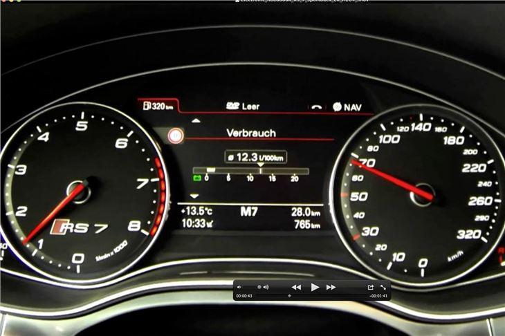 Audi Rs7 2013 Road Test Road Tests Honest John
