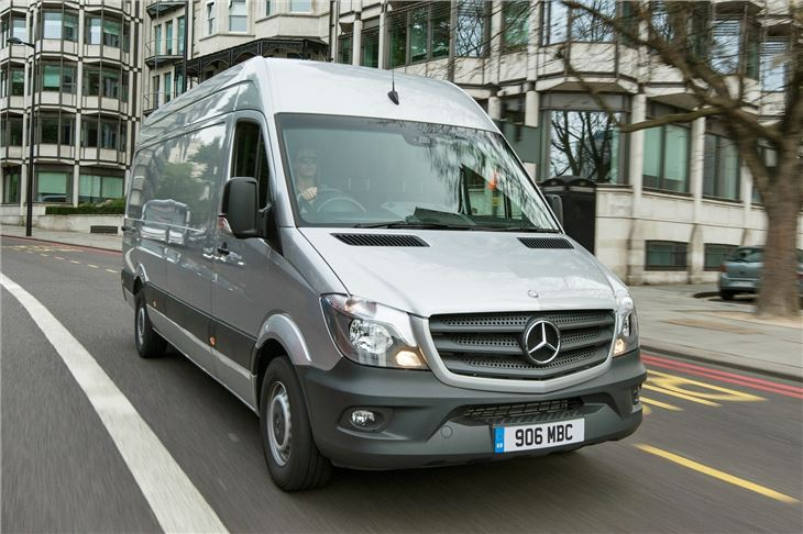 mercedes benz sprinter 2013 van review honest john. Black Bedroom Furniture Sets. Home Design Ideas
