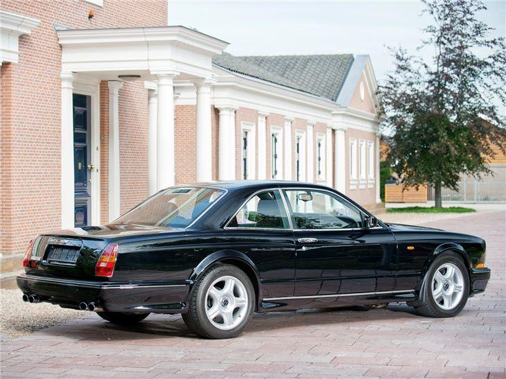 Bentley Continental T on 1995 Bentley Continental Gt