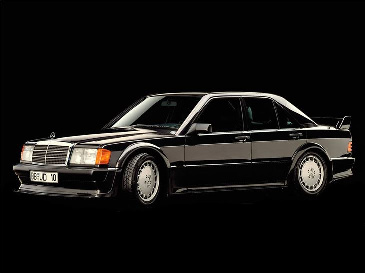 Mercedes Benz Cosworth on mercedes 190e cosworth