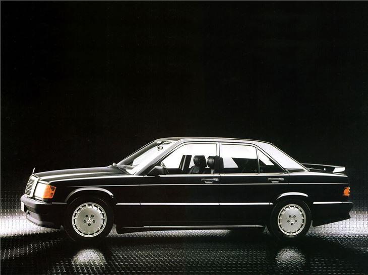 mercedes benz 190e 2 3 16 2 5 16 classic car review honest john. Black Bedroom Furniture Sets. Home Design Ideas