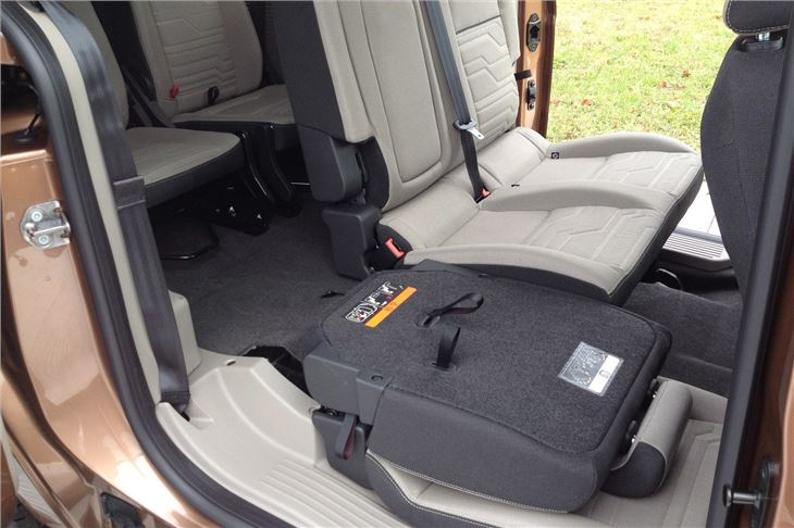 Ford Tourneo Connect Seats on Honda Fit