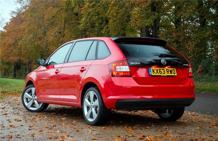 Top Car Models >> Skoda Rapid Spaceback 2013 - Car Review | Honest John