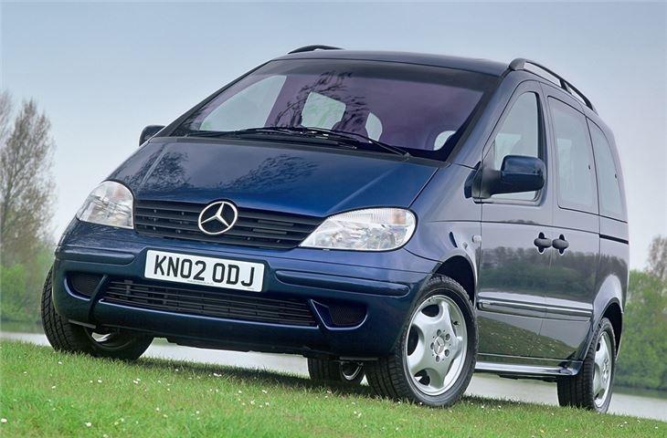 Mercedes benz vaneo 2002 car review honest john for Mercedes benz model history