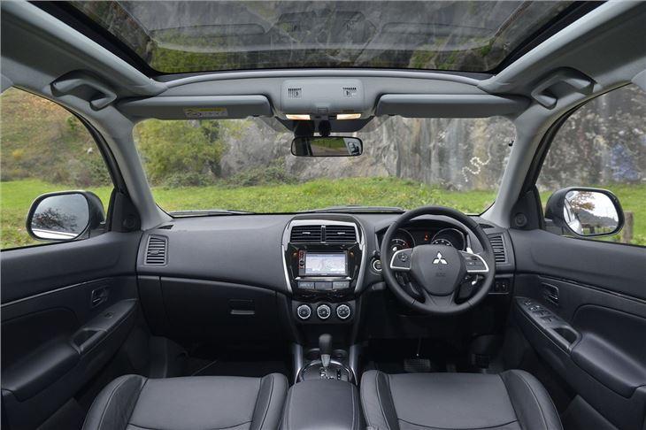 mitsubishi asx 2 2 auto 2014 road test road tests. Black Bedroom Furniture Sets. Home Design Ideas