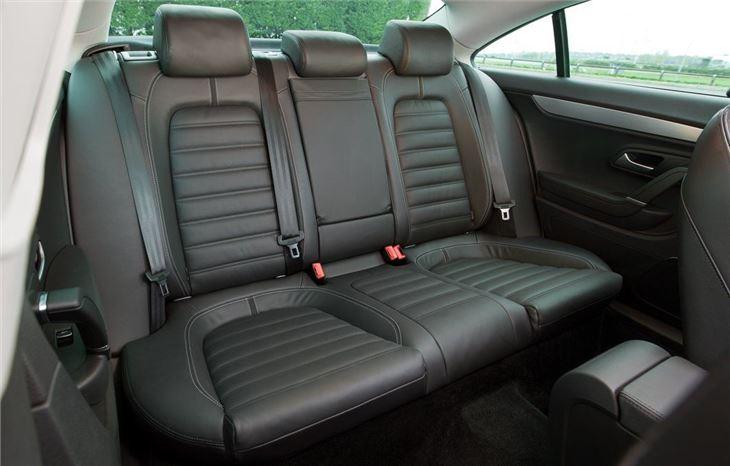 Black Leather Child Car Seat