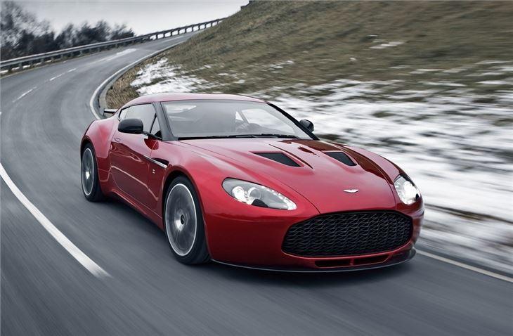 Aston Martin V Zagato Car Review Honest John - Aston martin v12
