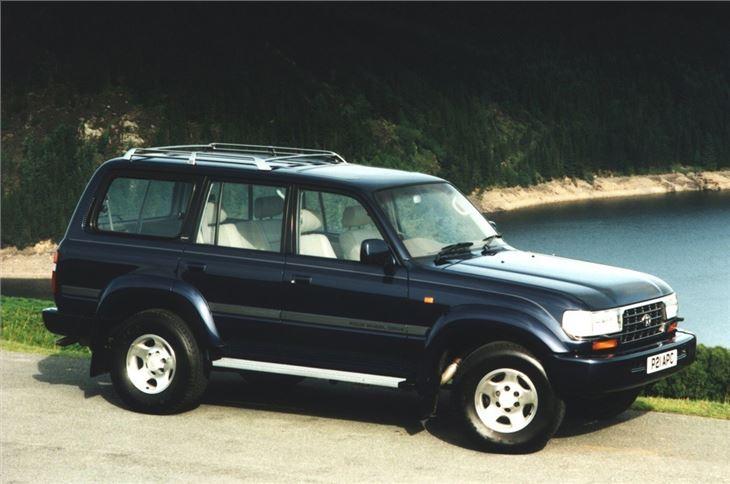 toyota land cruiser amazon 1990 car review honest john. Black Bedroom Furniture Sets. Home Design Ideas