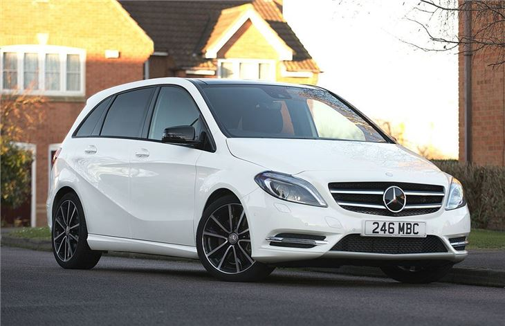 Mercedes benz b class 2012 car review honest john for Mercedes benz bclass